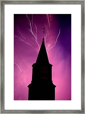 Electric Church Framed Print by Tim Scullion