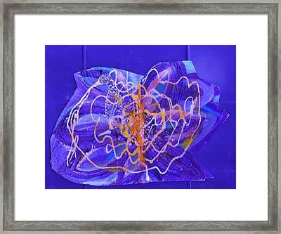 Electric Ecstasy Framed Print by Anne-Elizabeth Whiteway