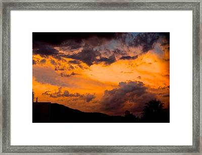 Electric Feel Framed Print by Alexander Martinez