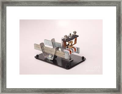 Electric Motor Framed Print by Ted Kinsman