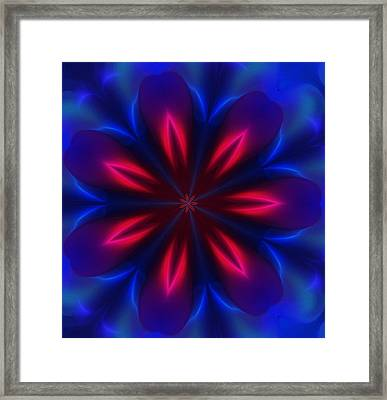 Electric Passion Framed Print