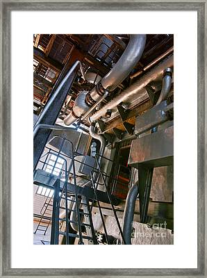 Electric Plant Framed Print by Carlos Caetano