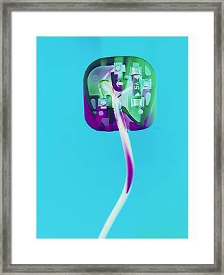 Electric Plug Framed Print