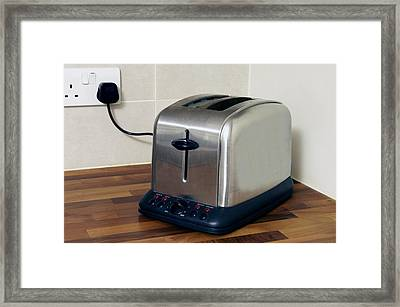 Electric Toaster Framed Print by Johnny Greig