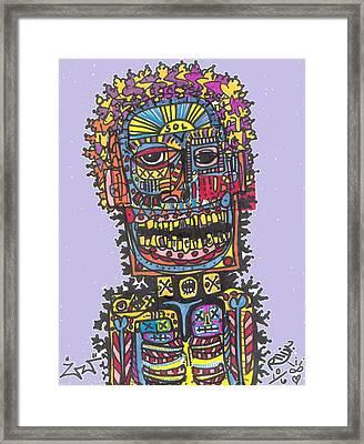 Electric Vibe Framed Print