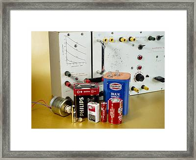 Electrical Power Sources Framed Print by Andrew Lambert Photography