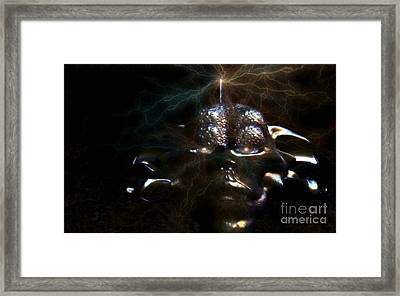 Electrifying Framed Print by Jan Willem Van Swigchem