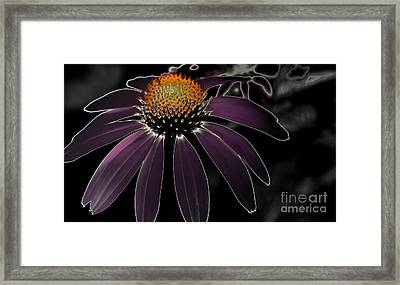 Electrifying Framed Print by Tamera James