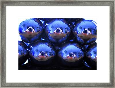Electro Blues One Framed Print by Alan Rutherford