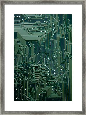 Electronic Highway Framed Print by David Paul Murray