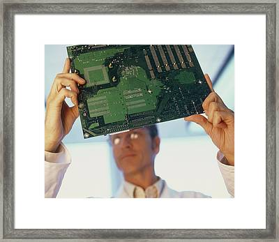 Electronics Engineer Framed Print by Adam Gault