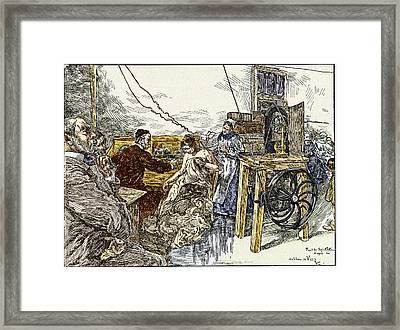Electrotherapy, 1900 Framed Print