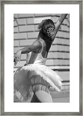 Framed Print featuring the photograph Elegance by Graham Hawcroft pixsellpix