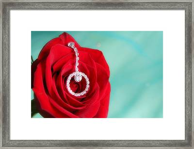 Elegance In Color Framed Print by Mark J Seefeldt