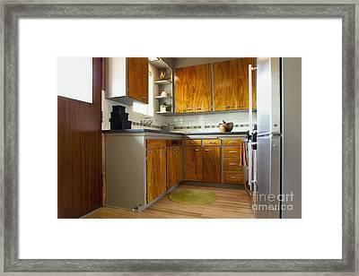 Elegant Kitchen Interior Framed Print by Inti St. Clair
