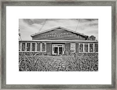 Elementary School Framed Print by Scott Pellegrin