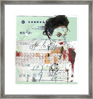 Elements Framed Print by Adam Kissel