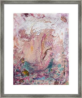 Elements Framed Print by Neda Laketic