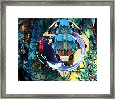 Elements Of Freedom Framed Print