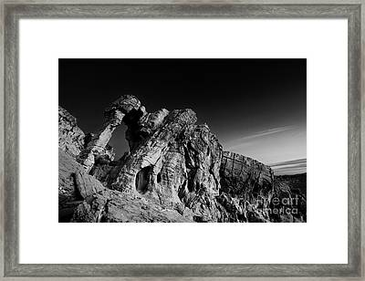 Elephant Rock Framed Print by Keith Kapple