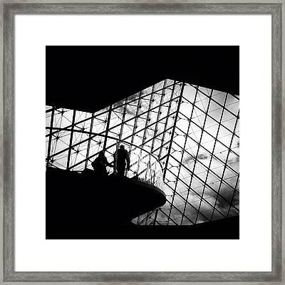 Elevating Art Framed Print
