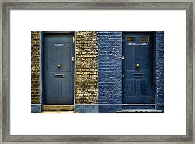 Eleven And A Half Framed Print by Heather Applegate