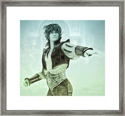 Elf Prince Framed Print
