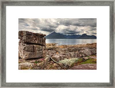 Elgol Coastline Framed Print by Fiona Messenger