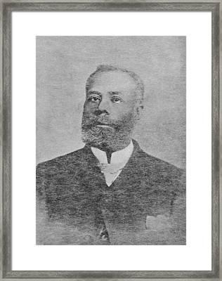 Elijah Mccoy, Canadian Inventor Framed Print