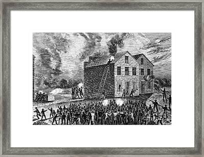 Elijah Parish Lovejoy Framed Print by Granger