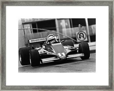 Elio At Long Beach Framed Print