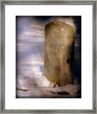Elisabeth  Framed Print by Priscilla Richardson