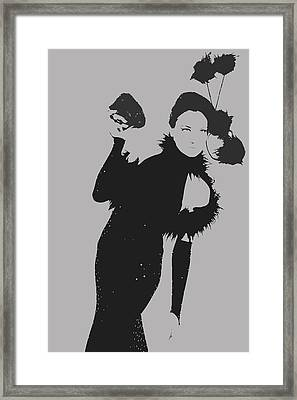 Elithabeth Framed Print by Naxart Studio