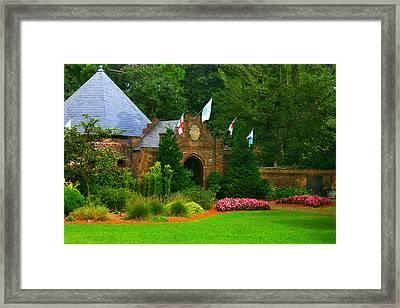 Elizabethan Garden Framed Print by Cindy Haggerty