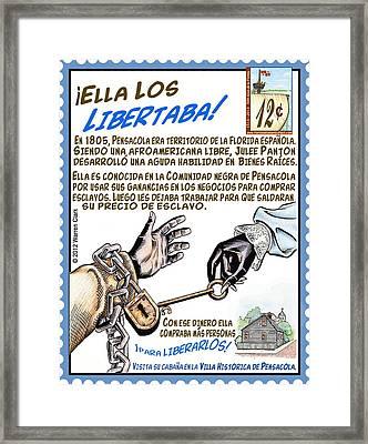 Ella Los Libertaba Framed Print by Warren Clark