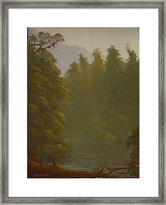 Ellery River 1977 Framed Print by Terry Perham