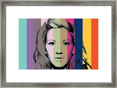 Elli  Framed Print