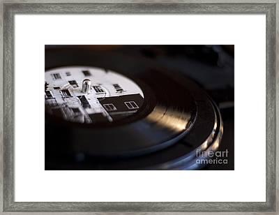 Elliott Smith Vinyl Framed Print by Kristi Jacobsen