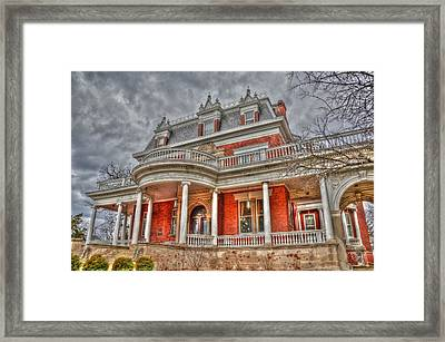 Ellwood Mansion Framed Print by Dan Crosby