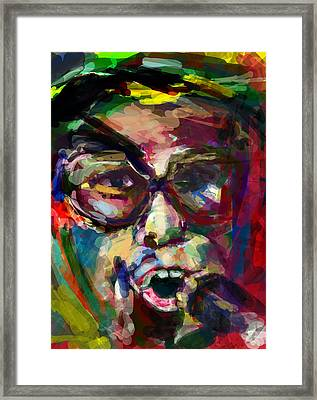 Elton In 20 Framed Print by James Thomas