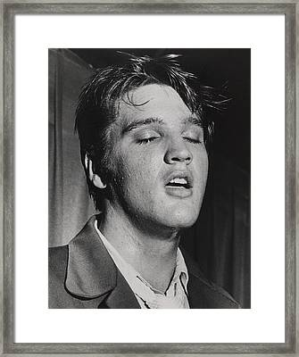 Elvis Presley 1935-1977 Framed Print by Everett