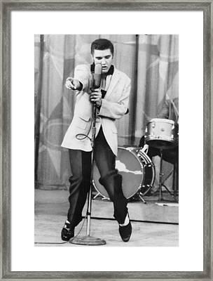 Elvis Presley 1935-1977, Performs Framed Print