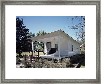 Elvis Presleys Birthplace, Tupelo Framed Print by Everett