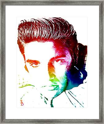 Elvis Framed Print by The DigArtisT