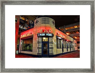 Elwood Bar And Grill Detroit Michigan Framed Print by Gordon Dean II