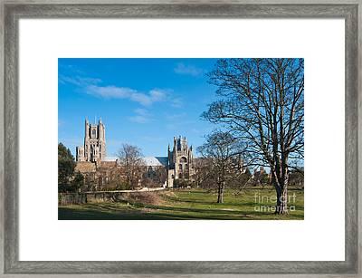 Ely Scenic Framed Print