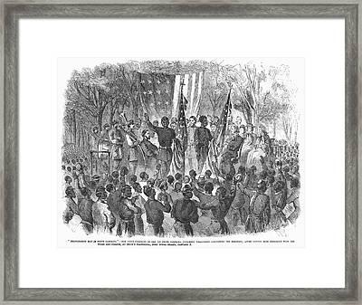 Emancipation, 1863 Framed Print by Granger