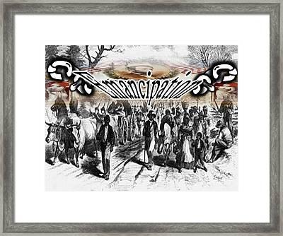Emancipation Framed Print by Belinda Threeths