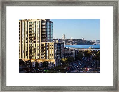 Embarcadero Framed Print by Rick DeMartile