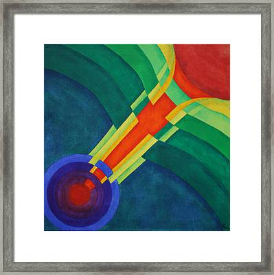 Framed Print featuring the painting Embellishments Ix by Paul Amaranto
